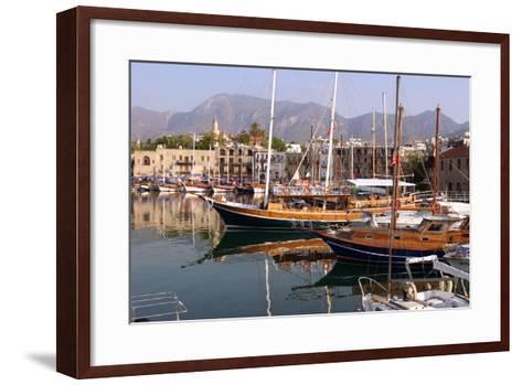 Harbour of Kyrenia (Girne), North Cyprus-Peter Thompson-Framed Art Print