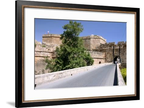 White Bastion, Old Town Walls, Famagusta, North Cyprus-Peter Thompson-Framed Art Print