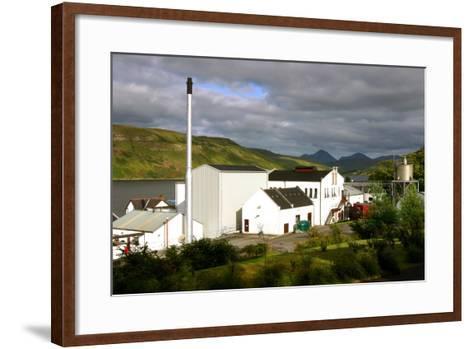 Talisker Distillery, Isle of Skye, Highland, Scotland-Peter Thompson-Framed Art Print