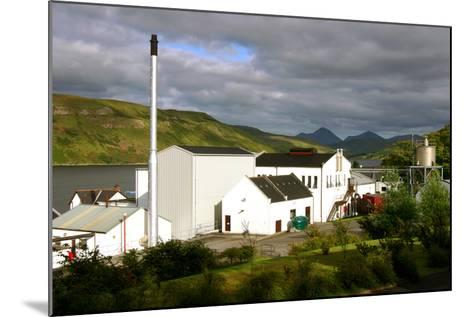 Talisker Distillery, Isle of Skye, Highland, Scotland-Peter Thompson-Mounted Photographic Print