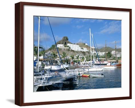 Marina, Puerto Rico, Gran Canaria, Canary Islands-Peter Thompson-Framed Art Print