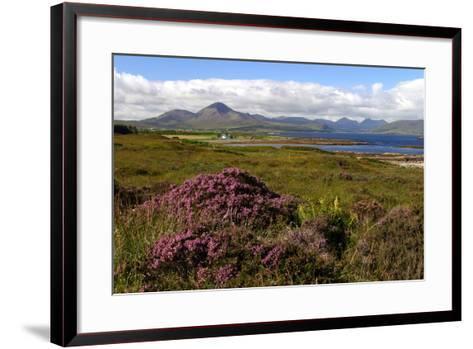 Cuillin Hills, Isle of Skye, Highland, Scotland-Peter Thompson-Framed Art Print