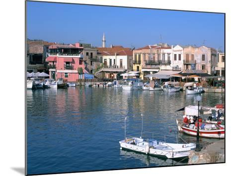 Old Harbour, Rethymnon, Crete, Greece-Peter Thompson-Mounted Photographic Print
