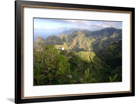 Anaga Mountains, Tenerife, 2007-Peter Thompson-Framed Art Print