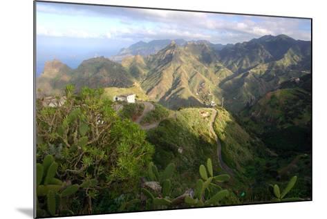 Anaga Mountains, Tenerife, 2007-Peter Thompson-Mounted Photographic Print