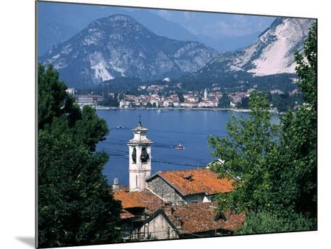 Lake Maggiore, Isola Bella Baveno in Background, Italy-Peter Thompson-Mounted Photographic Print