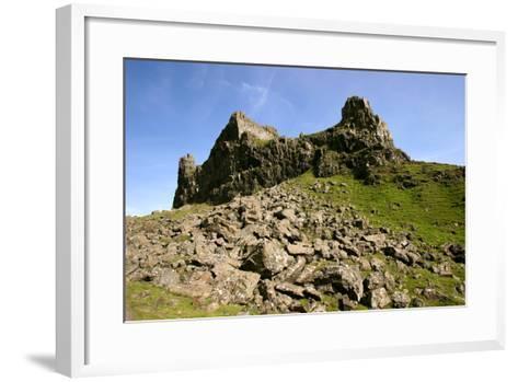 Quiraing, Isle of Skye, Highland, Scotland-Peter Thompson-Framed Art Print