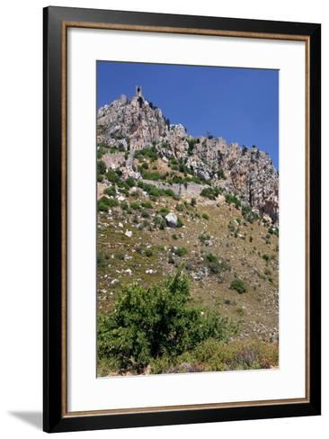 St Hilarion Castle, North Cyprus-Peter Thompson-Framed Art Print