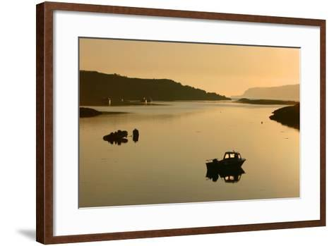 Sound of Ulva, Isle of Mull, Argyll and Bute, Scotland-Peter Thompson-Framed Art Print