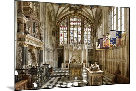 Beauchamp Chapel, the Collegiate Church of St Mary, Warwick, Warwickshire, 2010-Peter Thompson-Mounted Photographic Print