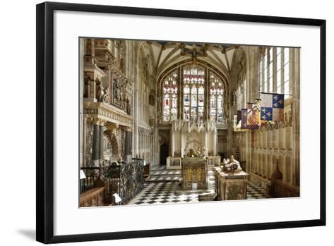 Beauchamp Chapel, the Collegiate Church of St Mary, Warwick, Warwickshire, 2010-Peter Thompson-Framed Art Print