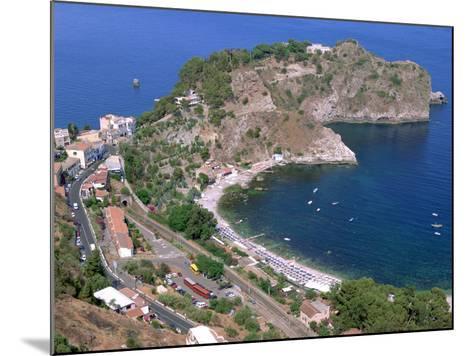 Capo Sant Andrea, Taormina, Sicily, Italy-Peter Thompson-Mounted Photographic Print