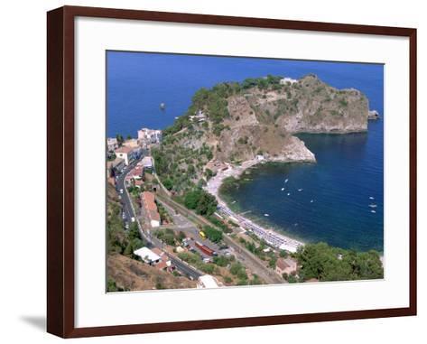 Capo Sant Andrea, Taormina, Sicily, Italy-Peter Thompson-Framed Art Print