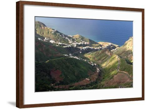 Anaga Mountains, Tenerife-Peter Thompson-Framed Art Print