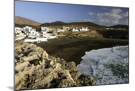 Puerto De La Pena, Ajuy, Fuerteventura, Canary Islands-Peter Thompson-Mounted Photographic Print