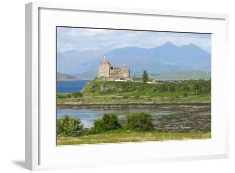 Duart Castle, Near Craignure, Mull, Argyll and Bute, Scotland-Peter Thompson-Framed Art Print