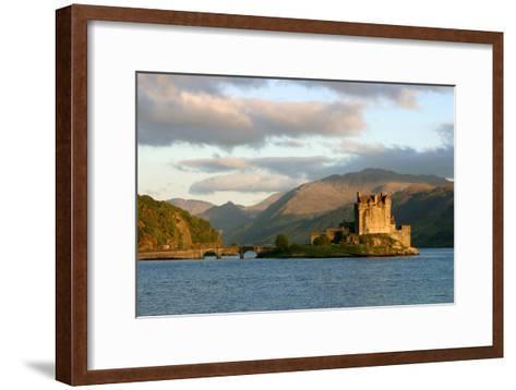 Eilean Donan Castle, Highland, Scotland-Peter Thompson-Framed Art Print