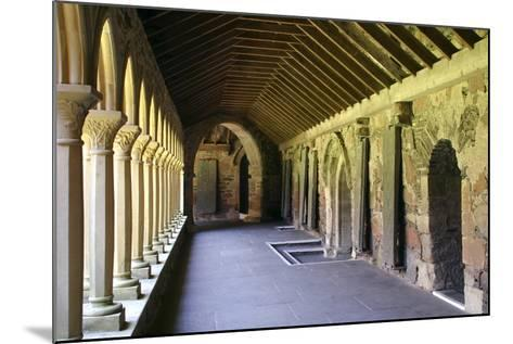 Cloisters of Iona Abbey, Argyll and Bute, Scotland-Peter Thompson-Mounted Photographic Print
