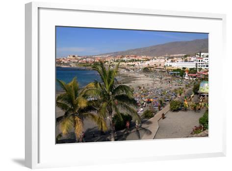 Playa De Torviscas Beach, Playa De Las Americas, Tenerife, Canary Islands, 2007-Peter Thompson-Framed Art Print