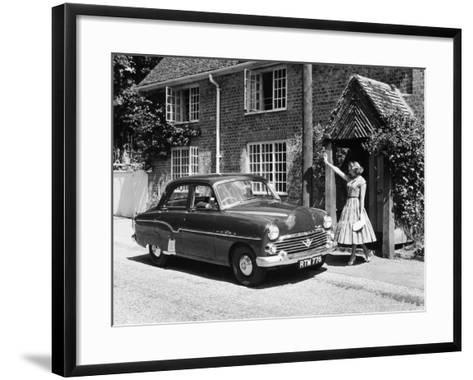 1956 Vauxhall Velox, (C1956)--Framed Art Print