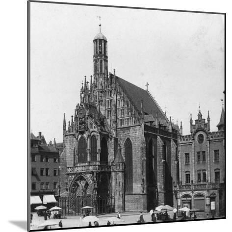 The Frauenkirche, Nuremberg, Bavaria, Germany, C1900-Wurthle & Sons-Mounted Photographic Print