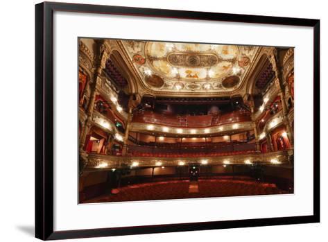 Interior of the Grand Opera House, Belfast, Northern Ireland, 2010-Peter Thompson-Framed Art Print