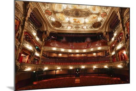 Interior of the Grand Opera House, Belfast, Northern Ireland, 2010-Peter Thompson-Mounted Photographic Print