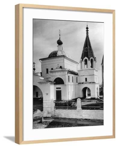 Church of Three Saints (Prelate), Kulishki, Moscow, Russia, 1881- Scherer Nabholz & Co-Framed Art Print