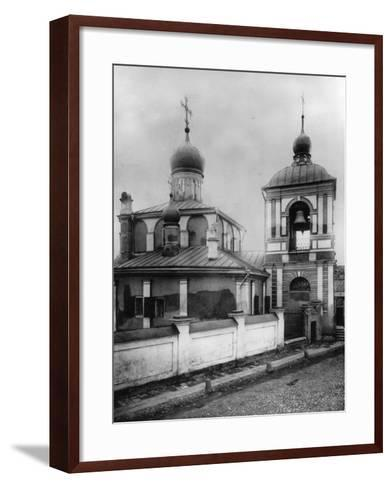 Church of the Conception of St Anna, Moscow, Russia, 1881- Scherer Nabholz & Co-Framed Art Print
