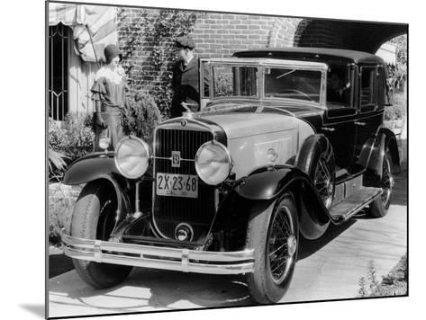 1930 Cadillac V8 Formal Town Car, (C193)--Mounted Photographic Print
