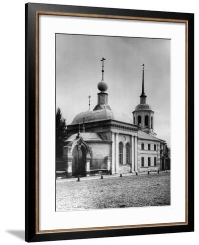 Dormition Church, Ostozhenka Street, Moscow, Russia, 1881- Scherer Nabholz & Co-Framed Art Print