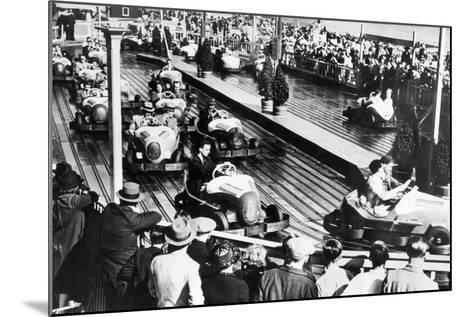 Dodgem Car Track--Mounted Photographic Print