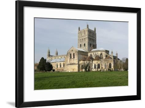Tewkesbury Abbey, Gloucestershire, 2010-Peter Thompson-Framed Art Print