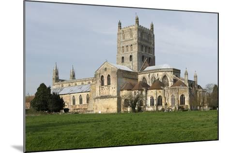 Tewkesbury Abbey, Gloucestershire, 2010-Peter Thompson-Mounted Photographic Print
