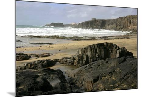 Coastline Near El Cotillo, Fuerteventura, Canary Islands-Peter Thompson-Mounted Photographic Print