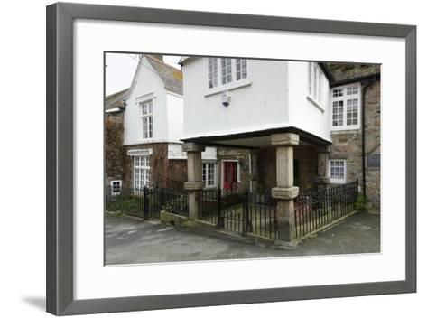 Keigwin Arms, Mousehole, Cornwall, 2010-Peter Thompson-Framed Art Print