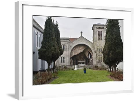 Lourdes Grotto, St Marys Chapel, Belfast, Northern Ireland, 2010-Peter Thompson-Framed Art Print