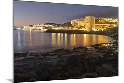 Looking Towards Patalavaca from Arguineguin, Gran Canaria, Canary Islands, Spain-Peter Thompson-Mounted Photographic Print