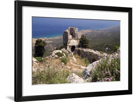 Kantara Castle, North Cyprus-Peter Thompson-Framed Art Print