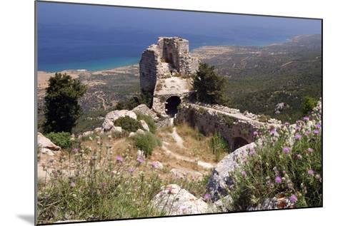 Kantara Castle, North Cyprus-Peter Thompson-Mounted Photographic Print