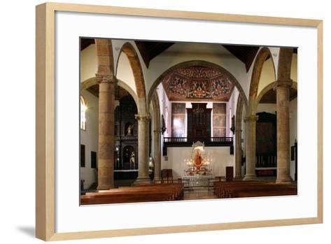 Interior, Church of Nuestra Senora De La Concepcion, La Laguna, Tenerife, Canary Islands, 2007-Peter Thompson-Framed Art Print