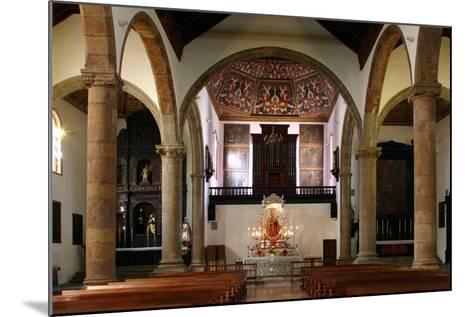 Interior, Church of Nuestra Senora De La Concepcion, La Laguna, Tenerife, Canary Islands, 2007-Peter Thompson-Mounted Photographic Print
