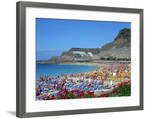 Playa Del Amadores, Gran Canaria, Canary Islands-Peter Thompson-Framed Art Print