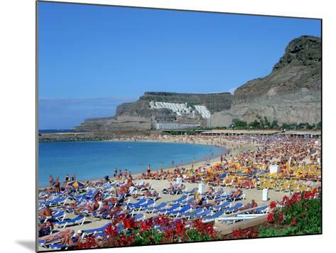Playa Del Amadores, Gran Canaria, Canary Islands-Peter Thompson-Mounted Photographic Print