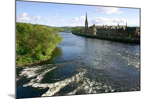 River Tay and Perth, Scotland-Peter Thompson-Mounted Photographic Print