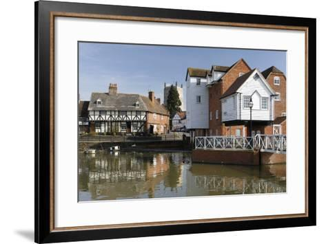 Abbey Mill, Tewkesbury, Gloucestershire, 2010-Peter Thompson-Framed Art Print