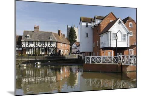 Abbey Mill, Tewkesbury, Gloucestershire, 2010-Peter Thompson-Mounted Photographic Print