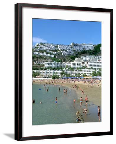 Beach, Puerto Rico, Gran Canaria, Canary Islands-Peter Thompson-Framed Art Print