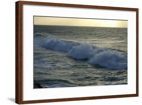 Seascape, Fuerteventura, Canary Islands-Peter Thompson-Framed Art Print