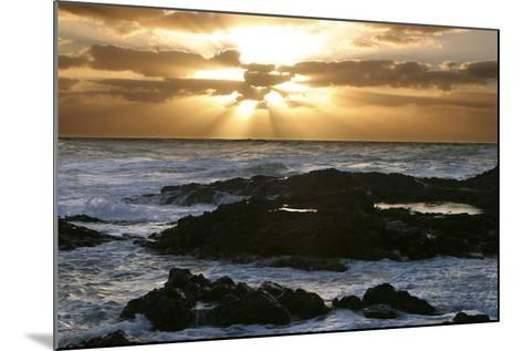 Seascape, Fuerteventura, Canary Islands-Peter Thompson-Mounted Photographic Print